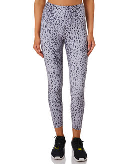 GREY SCALE LEOPARD WOMENS CLOTHING LORNA JANE ACTIVEWEAR - WS1019207GRYLP