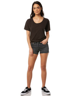 WEEKEND BLING WOMENS CLOTHING LEVI'S SHORTS - 52299-0002WDB