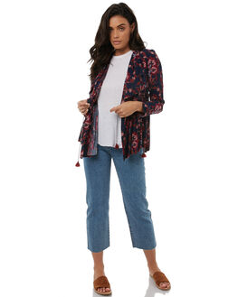 INDIGO WOMENS CLOTHING TIGERLILY JACKETS - T383241INDI