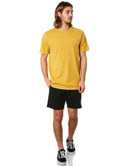 SEEDY YELLOW MENS CLOTHING VOLCOM TEES - A5241872SDY