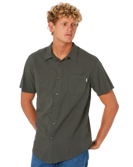 TEAL MENS CLOTHING RHYTHM SHIRTS - JAN20M-WT02-TEA
