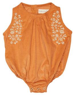 ORANGE KIDS BABY CHILDREN OF THE TRIBE CLOTHING - BBRP0345ORG