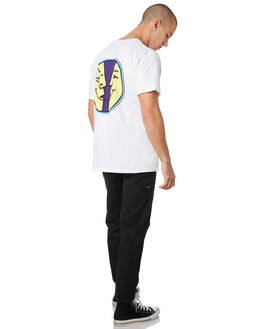 WHITE MENS CLOTHING KROOKED TEES - 51023404AWHT