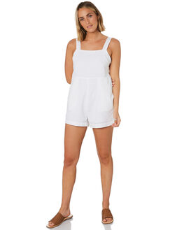 WHITE WOMENS CLOTHING NUDE LUCY PLAYSUITS + OVERALLS - NU23788WHITE