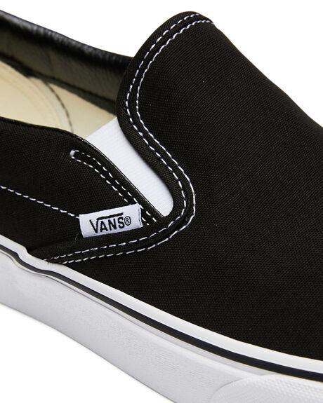 BLACK WOMENS FOOTWEAR VANS SNEAKERS - SSVN-0EYEBLKW