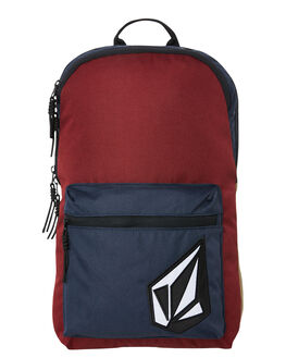 CABERNET MENS ACCESSORIES VOLCOM BAGS + BACKPACKS - D6531650CAB