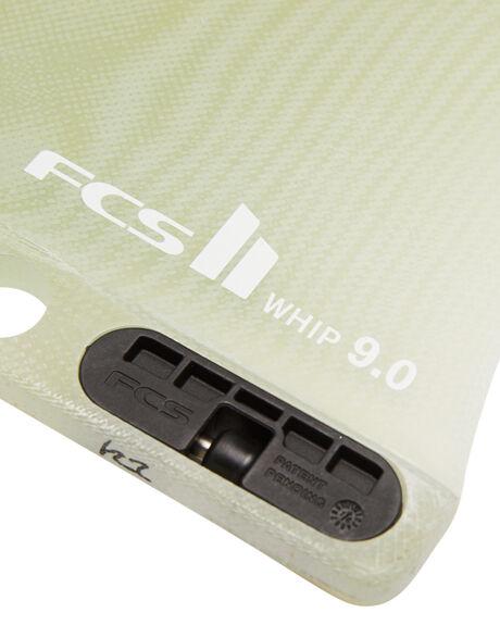 CLEAR BOARDSPORTS SURF FCS FINS - FWHI-PG02-LB-90-RCLR