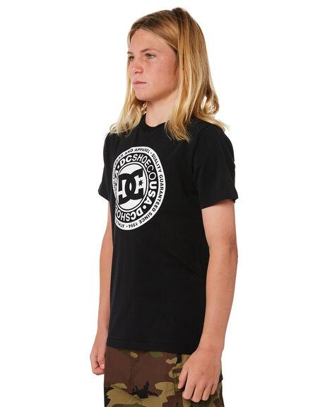 BLACK KIDS BOYS DC SHOES TOPS - UDBZT03189KVJ0