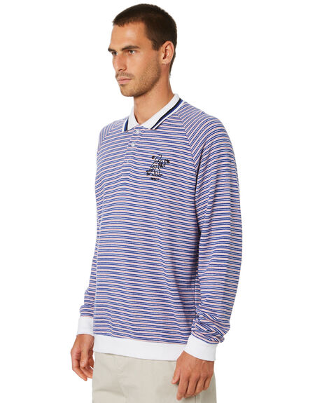 MULTI STRIPE MENS CLOTHING MISFIT SHIRTS - MT005204MLTST