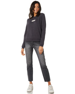 OIL GREY WOMENS CLOTHING HURLEY JUMPERS - AGFLSBOX013