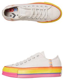 VINTAGE WHITE WOMENS FOOTWEAR CONVERSE SNEAKERS - 564992CVWHT