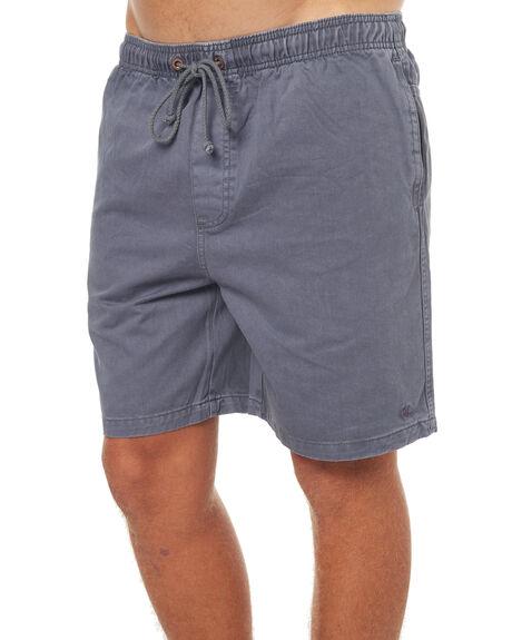 NAVY MENS CLOTHING AFENDS SHORTS - 09-06-020NVY