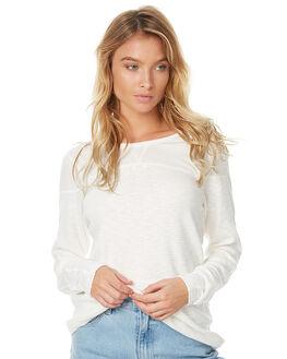 ANTIQUE WHITE WOMENS CLOTHING ELEMENT TEES - 276189AWHT