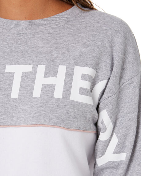 GREY MARLE WOMENS CLOTHING SILENT THEORY JUMPERS - 6073055GRM