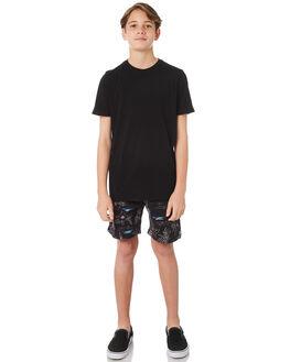 BLACK KIDS BOYS SWELL TOPS - S3183004BLACK