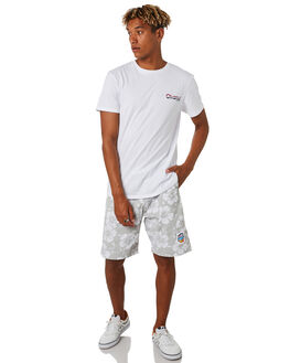 COOL GREY MENS CLOTHING OKANUI BOARDSHORTS - OKBOHBCGCOOL