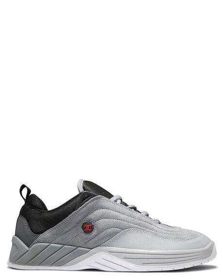 GREY BLACK RED MENS FOOTWEAR DC SHOES SNEAKERS - ADYS100539-XSKR