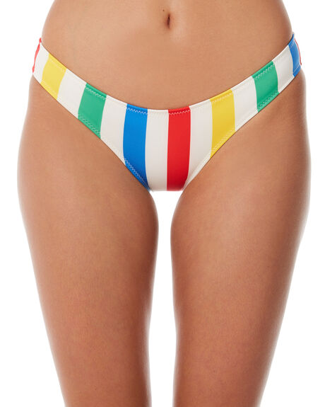 PRIMARY STRIPE OUTLET WOMENS SOLID AND STRIPED BIKINI BOTTOMS - WS-1059-1435PRMST