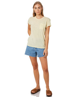 RESIN YELLOW WOMENS CLOTHING PATAGONIA TEES - 52980REYE