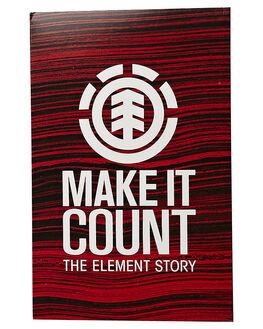 RED ACCESSORIES DVDS ELEMENT  - ELMAKEITCOUNTDVD