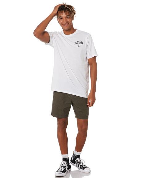 WHITE MENS CLOTHING VOLCOM TEES - A5042075WHT