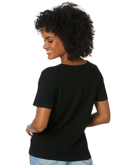 BLACK OUTLET WOMENS THE HIDDEN WAY TEES - H8212167BLACK
