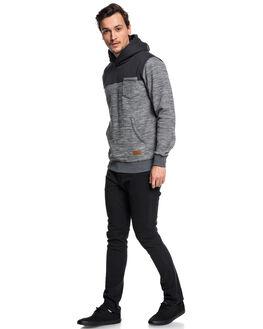 DARK GREY HEATHER MENS CLOTHING QUIKSILVER JUMPERS - EQYFT03840KRPH