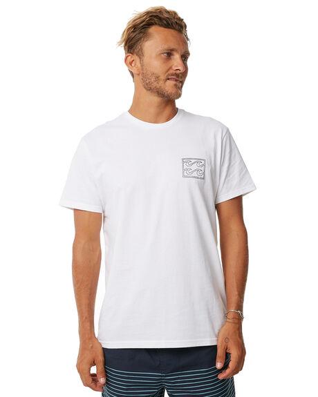 WHITE MENS CLOTHING BILLABONG TEES - 9585028WHT