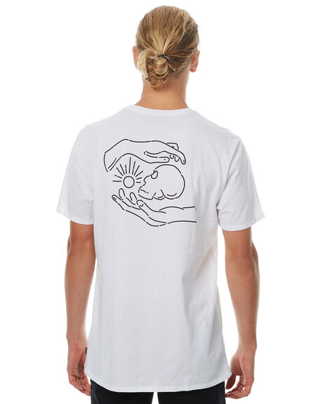 WHITE MENS CLOTHING SWELL TEES - S5164015WHT