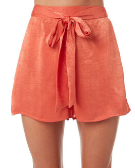 RUST WOMENS CLOTHING ALL ABOUT EVE SHORTS - 6423033BRNZ