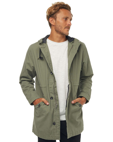 OLIVE MENS CLOTHING RHYTHM JACKETS - JAN18M-JK01OLI