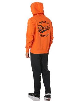 HARVEST ORANGE MENS CLOTHING DEUS EX MACHINA JUMPERS - DMW98020HVORG