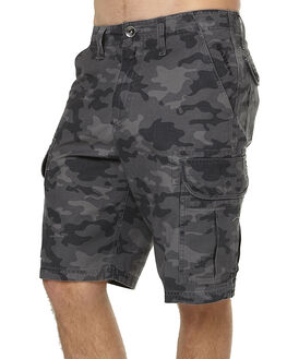 BLACK CAMO MENS CLOTHING OAKLEY SHORTS - 442126AU062