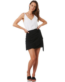 BLACK WOMENS CLOTHING RIP CURL SKIRTS - GSKDS10090