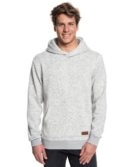 LIGHT GREY HEATHER MENS CLOTHING QUIKSILVER JUMPERS - EQYFT03836SJSH