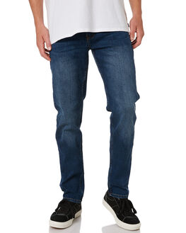 TIDAL BLUE MENS CLOTHING RIP CURL JEANS - CDEDC19422