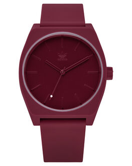 COLLEGIATE BURGUNDY MENS ACCESSORIES ADIDAS WATCHES - Z10-2902-00ACBUR
