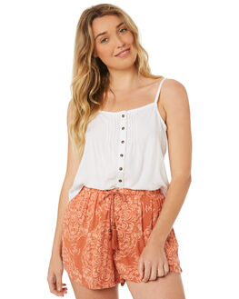 WHITE OUT WOMENS CLOTHING O'NEILL FASHION TOPS - 4522802-WHTO