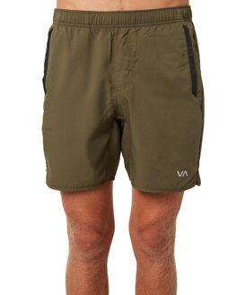 OLIVE MENS CLOTHING RVCA SHORTS - R371314OLI