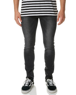 PCW WASHED BLACK MENS CLOTHING CHEAP MONDAY JEANS - 0498769WASH