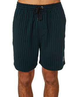 BOTTLE BLACK MENS CLOTHING STUSSY SHORTS - ST095612BTBLK