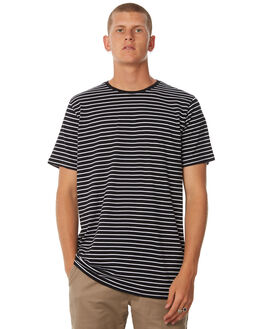 BLACK WHITE MENS CLOTHING SWELL TEES - S5173015BLKWH