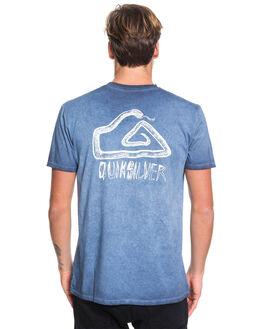 MOONLIT OCEAN MENS CLOTHING QUIKSILVER TEES - EQYZT05426-BYK0
