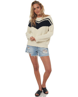 CREAM WOMENS CLOTHING THE HIDDEN WAY KNITS + CARDIGANS - H8173148CRM