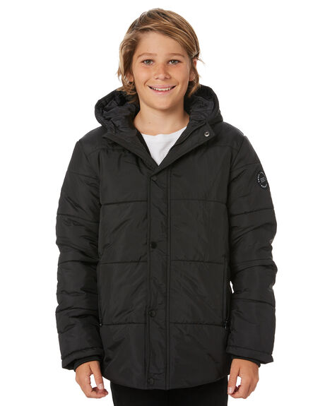 BLACK KIDS BOYS SWELL JUMPERS + JACKETS - S3193382BLACK