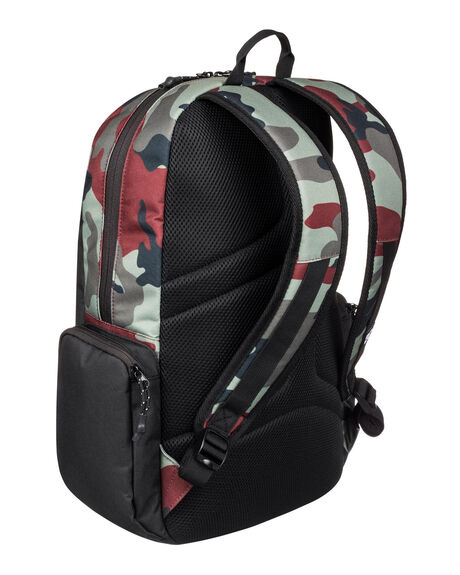 CAMO MENS ACCESSORIES DC SHOES BAGS + BACKPACKS - EDYBP03189-RRP6