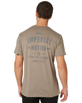 GREY MENS CLOTHING IMPERIAL MOTION TEES - 201803002052GRY