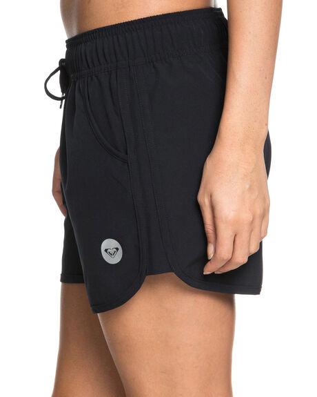 ANTHRACITE WOMENS CLOTHING ROXY SHORTS - ERJBS03114KVJ0