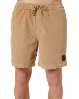 DUSTY YELLOW MENS CLOTHING RVCA SHORTS - R181315DYEL