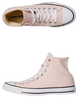 BARELY ROSE WOMENS FOOTWEAR CONVERSE HI TOPS - SS159619ROSEW